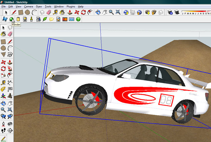 IRender nXt Google SketchUp Review