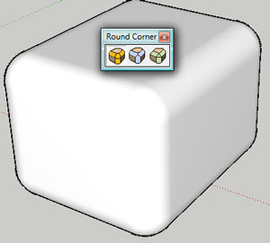 Round Corner 2 1 Google SketchUp Plugin Review - Sketchup