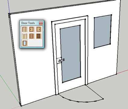 The ...  sc 1 st  Sketchup Plugin Reviews & Door Tools Google SketchUp Plugin Review - Sketchup Plugin ...