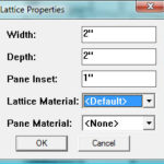 Lattice Maker Google SketchUp Plugin Review