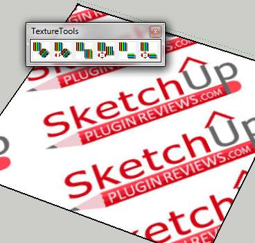Texture Tools Google SketchUp Plugin